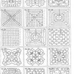 Tığ İşi Örgü Motif Şemaları 96