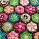 Çiçek Yapımı Örgü 35