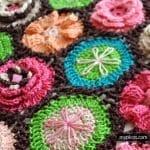 Çiçek Yapımı Örgü 36