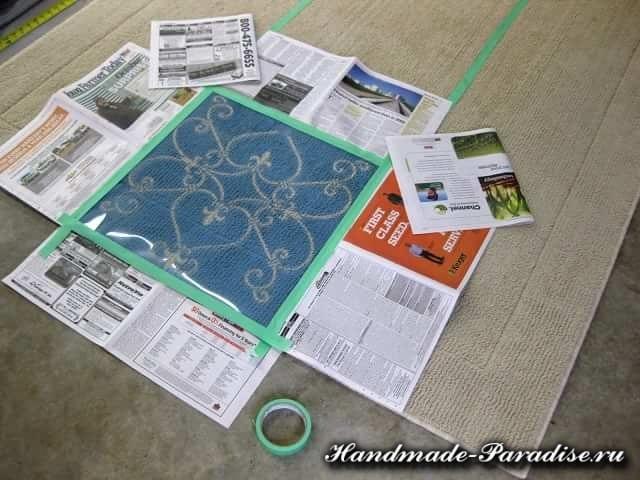 Evde Halı Boyama Nasıl Yapılır? 3