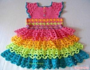 Gökkuşağı Elbise Yapımı 1