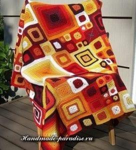 Motifli Ekose Battaniye Yapımı