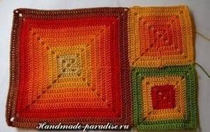 Motifli Ekose Battaniye Yapımı 2