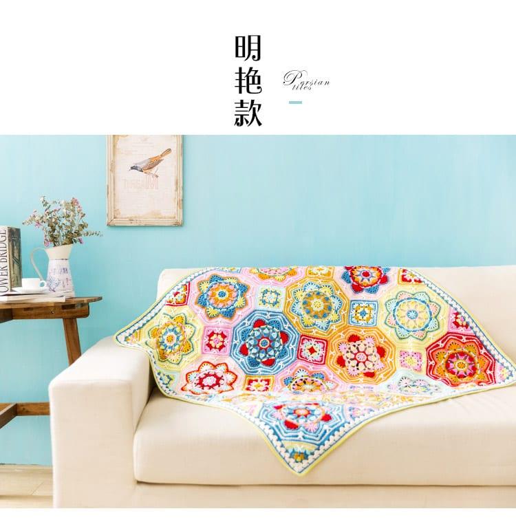 Renkli Battaniye Yapılışı 9