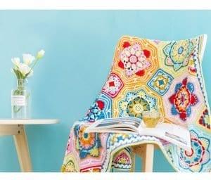 Renkli Battaniye Yapılışı