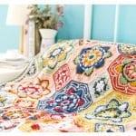 Renkli Battaniye Yapılışı 15
