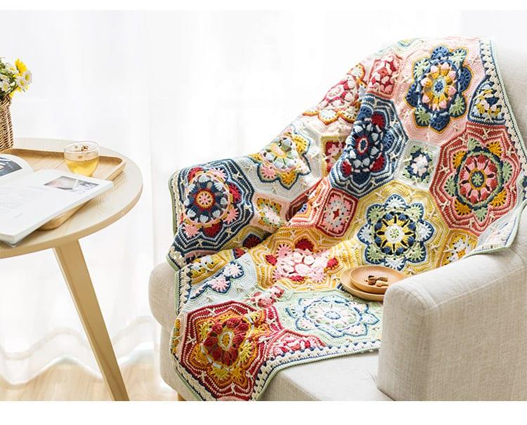 Renkli Battaniye Yapılışı 19