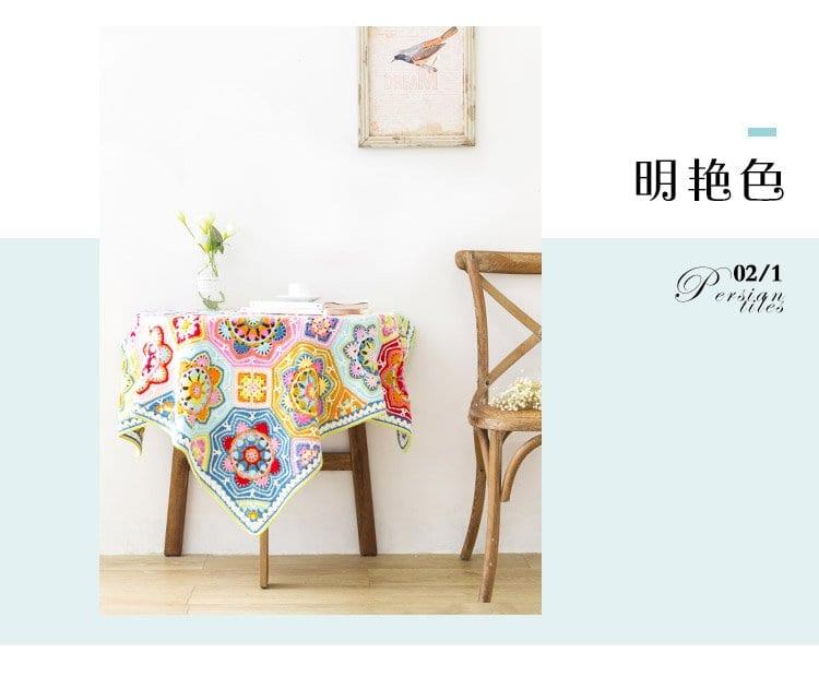 Renkli Battaniye Yapılışı 20