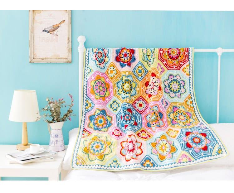 Renkli Battaniye Yapılışı 23