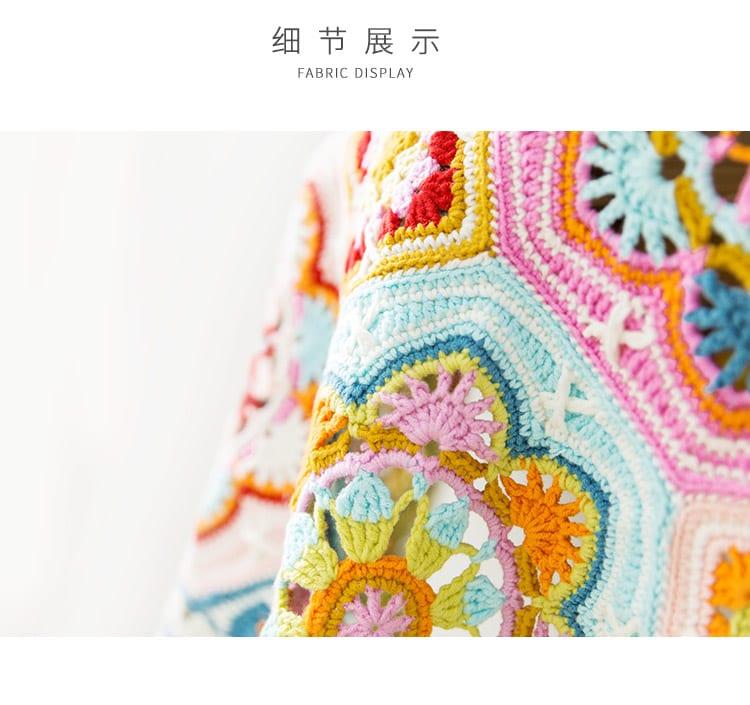 Renkli Battaniye Yapılışı 7
