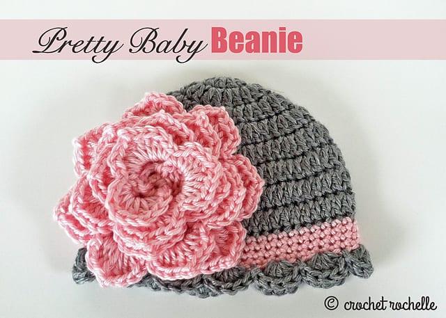Tığ İşi Bebek Şapka Modelleri 13