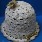 Tığ İşi Yazlık Şapka Modelleri 17