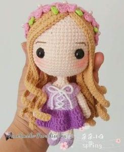 Amigurumi Prenses Yapımı 5