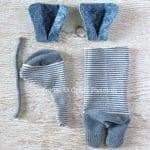 Çoraptan Fil Yapımı 15