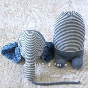 Çoraptan Fil Yapımı 26