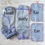 Çoraptan Fil Yapımı 6