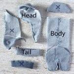 Çoraptan Fil Yapımı 8