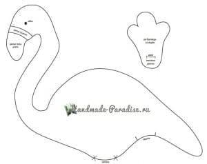 Flamingo Yastık Yapımı 3