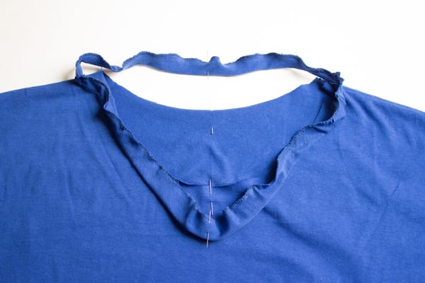 Penye Kumaştan Elbise Dikimi 12