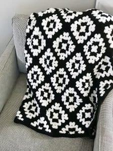 Battaniye Örgü Modelleri 34