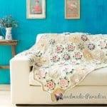 Çiçek Bahçesi Battaniye Yapımı 3