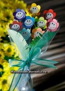 Kağıttan Çiçek Buketi Yapımı