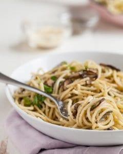 Mantarlı Spagetti Tarifi 1