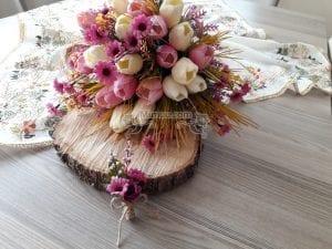 Yapay Gelin Çiçeği Yapımı 3