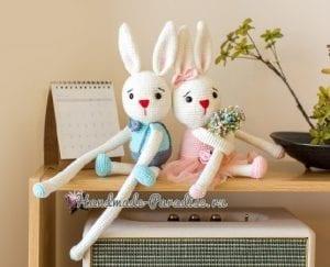 Amigurumi Perde Tutucu Tavşan 4
