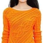 Bayan Örgü Kazak Modelleri ve Yapılışı 4
