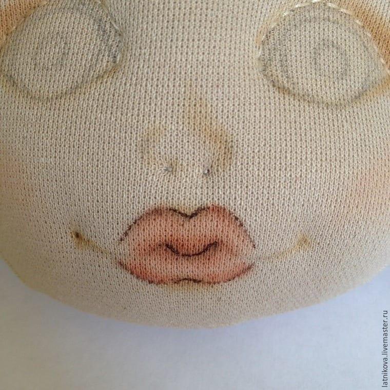 Bez Bebek Yüz Çizimi Yapılışı 23