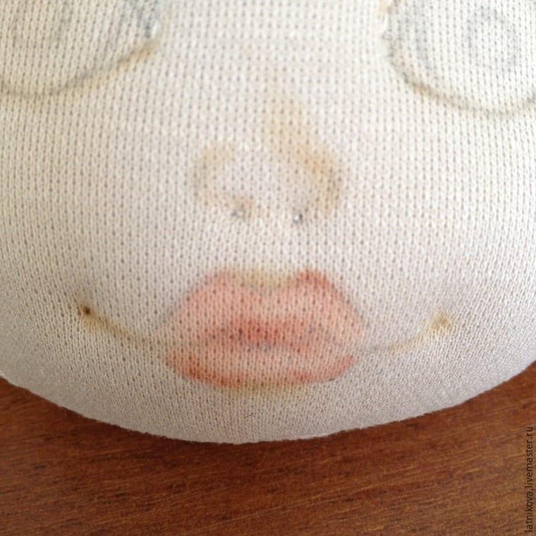 Bez Bebek Yüz Çizimi Yapılışı 30