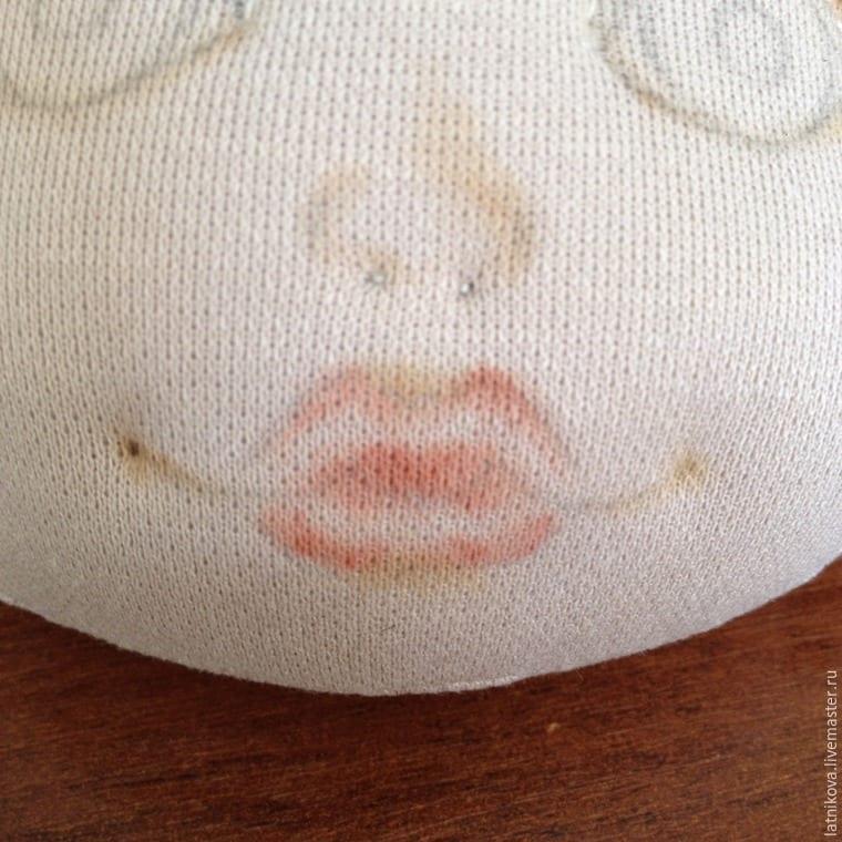 Bez Bebek Yüz Çizimi Yapılışı 5