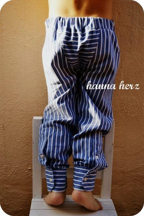 Erkek Gömleğinden Pijama ve Etek Yapılışı 9