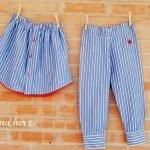 Erkek Gömleğinden Pijama ve Etek Yapılışı 11