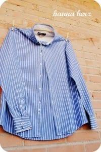 Erkek Gömleğinden Pijama ve Etek Yapılışı 13