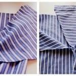 Erkek Gömleğinden Pijama ve Etek Yapılışı 3