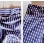 Erkek Gömleğinden Pijama ve Etek Yapılışı 5
