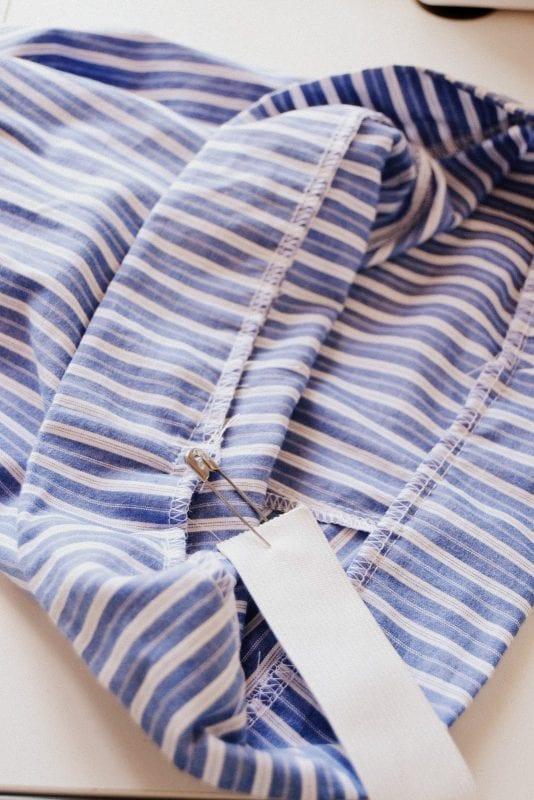 Erkek Gömleğinden Pijama ve Etek Yapılışı 7