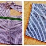 Erkek Gömleğinden Pijama ve Etek Yapılışı 8