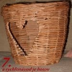 Gazeteden Kalpli Sepet Yapımı 6
