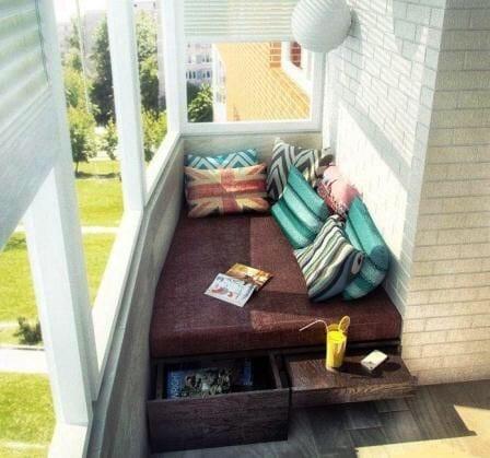 Küçük Balkon Dekorasyonu İçin Örnekler 9