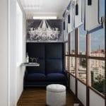 Küçük Balkon Dekorasyonu İçin Örnekler 10