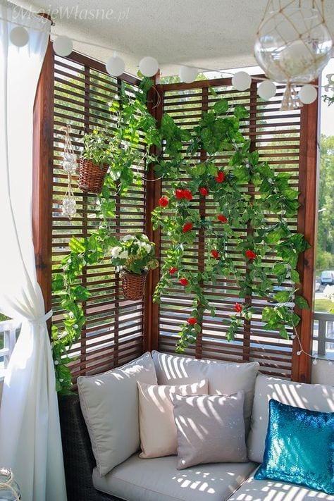 Küçük Balkon Dekorasyonu İçin Örnekler 14