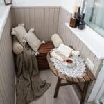 Küçük Balkon Dekorasyonu İçin Örnekler 18