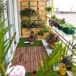 Küçük Balkon Dekorasyonu İçin Örnekler 20