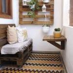 Küçük Balkon Dekorasyonu İçin Örnekler 26