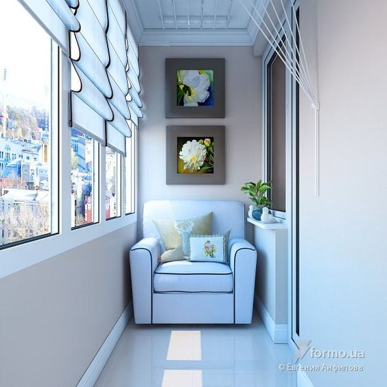 Küçük Balkon Dekorasyonu İçin Örnekler 30