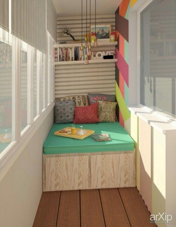Küçük Balkon Dekorasyonu İçin Örnekler 31