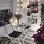 Küçük Balkon Dekorasyonu İçin Örnekler 38